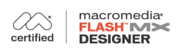 Macromedia Flash MX Designer Logo